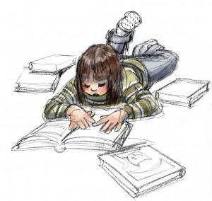 I bambini e i ragazzi dovrebbero riscoprire l'amore per la lettura...
